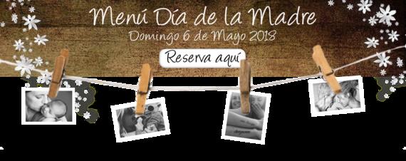 Banner día de la Madre 2018 con fotos
