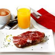 Desayuno Ibérico Barra de Sandó
