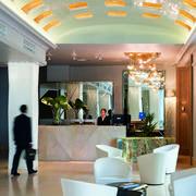 Hall 1vista desde puerta Hotel Santo Domingo Madrid