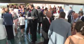 Celebración boda en terraza