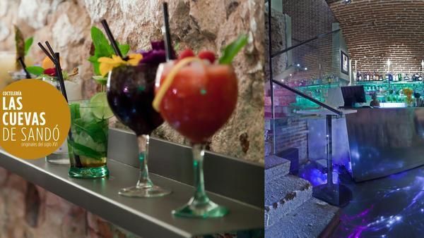 Cuevas de Sandó + Cocktail