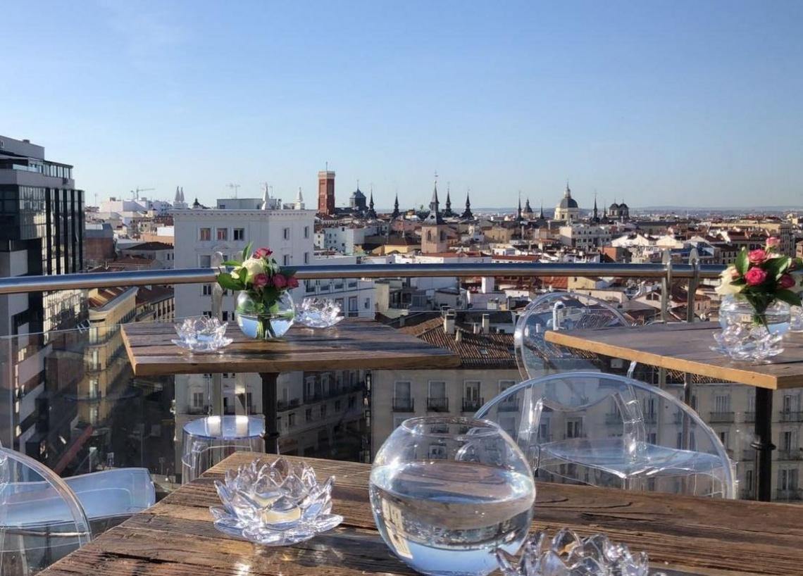 Vistas desde la Terraza del Santo Domingo