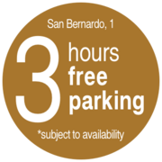 3 hours free parking