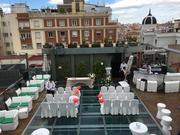 Boda civil en terraza