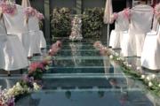 Decoración boda terraza efímeras