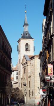 Iglesia de San Ginés lateral