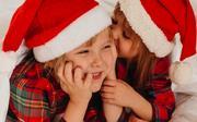 Niñas navidad