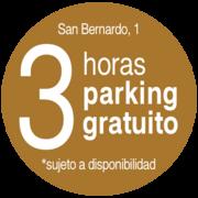 Banner Circular 3 horas de parking gratis